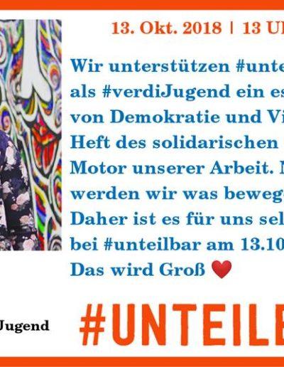 Sharepic #unteilbar13 Senff