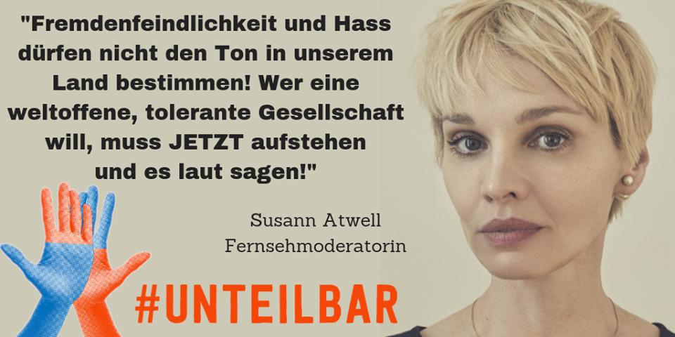 Sharepic #unteilbar14 Atwell