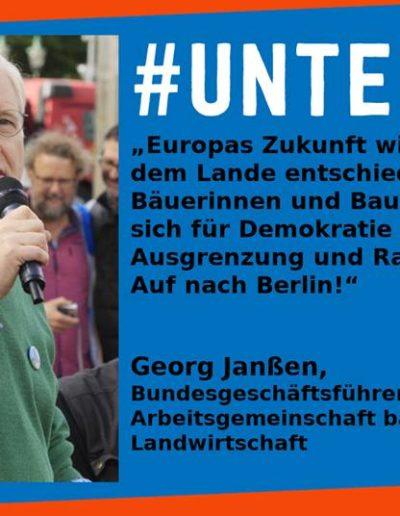 Sharepic #unteilbar15 Janßen