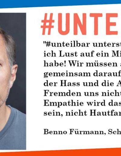 Sharepic #unteilbar9 Fürmann