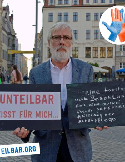 Johannes Sperm, Verein Hilfe gegen Gewalt in der Pflege Leipzig