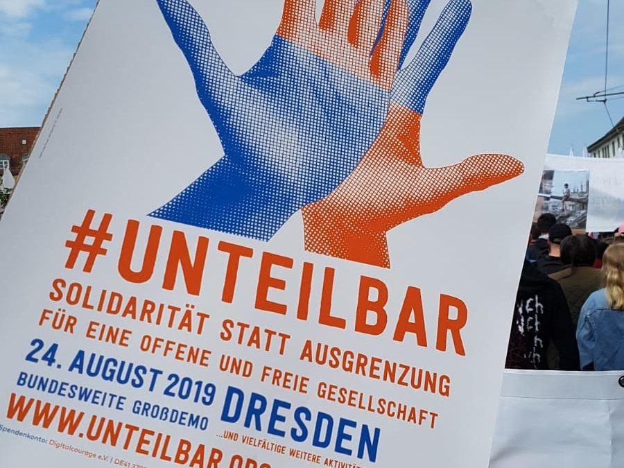 Jetzt auch in Sachsen: Demonstrationen am 6. Juli in Leipzig und am 24. August in Dresden