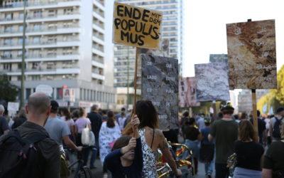 Bündnis #unteilbar erfährt große Resonanz und sieht nach Chemnitz Rechtsstaat gefährdet