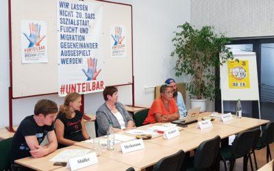 #unteilbar Pressekonferenz:  Vor den Landtagswahlen in Ostdeutschland