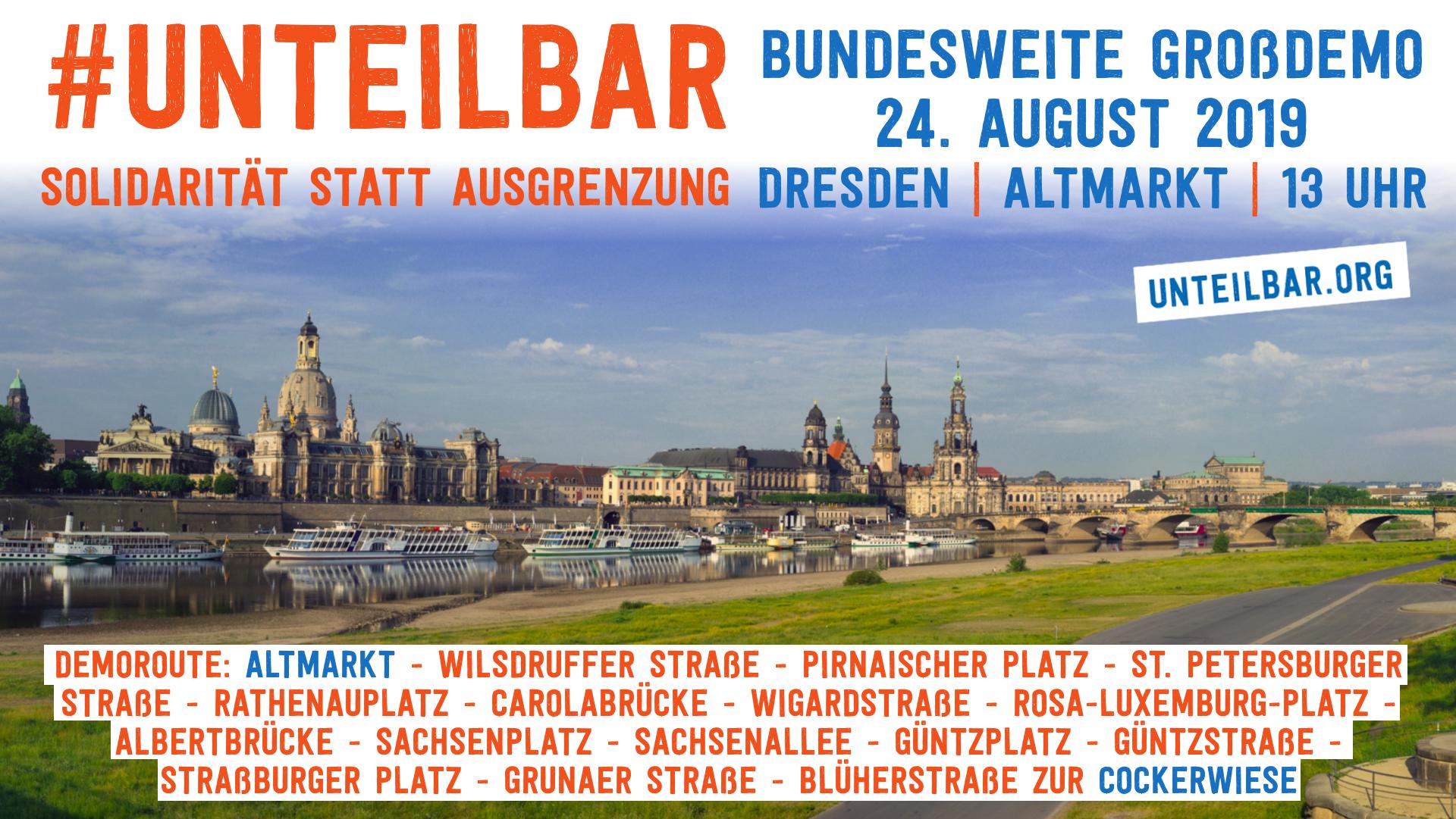Demo Dresden Unteilbarorg