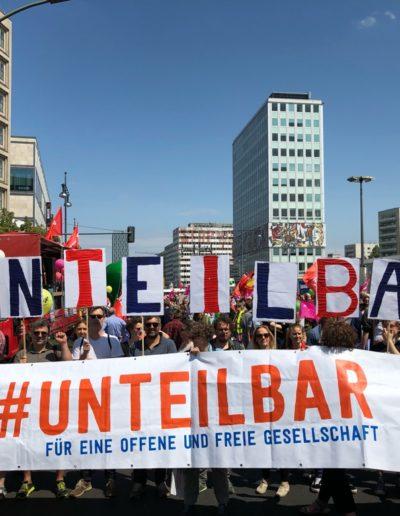 #unteilbar bei 1Europafüralle, CC-BY 4.0 unteilbar.org