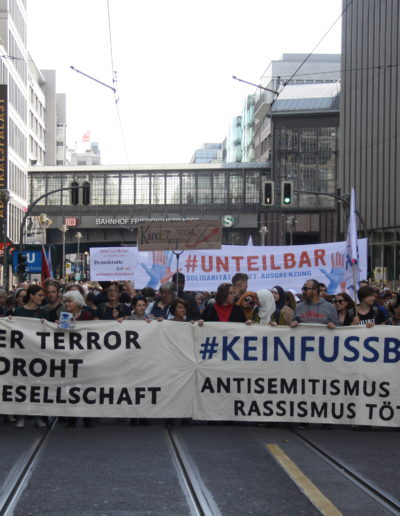 Kein Fussbreit, 13.10.2019, Berlin, Stephan Guerra CC-BY 4.0 unteilbar.org